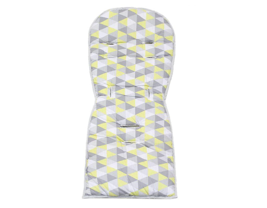 Protetor para Carrinho Dupla Face - Triângulo Amarelo