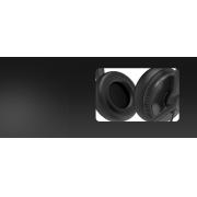 Yealink Headset YHS34 Dual  RJ9  (couro)