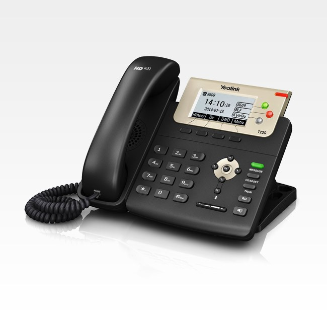Telefone Ip Yealink Sip T23G - Poe  - Northshop São Paulo