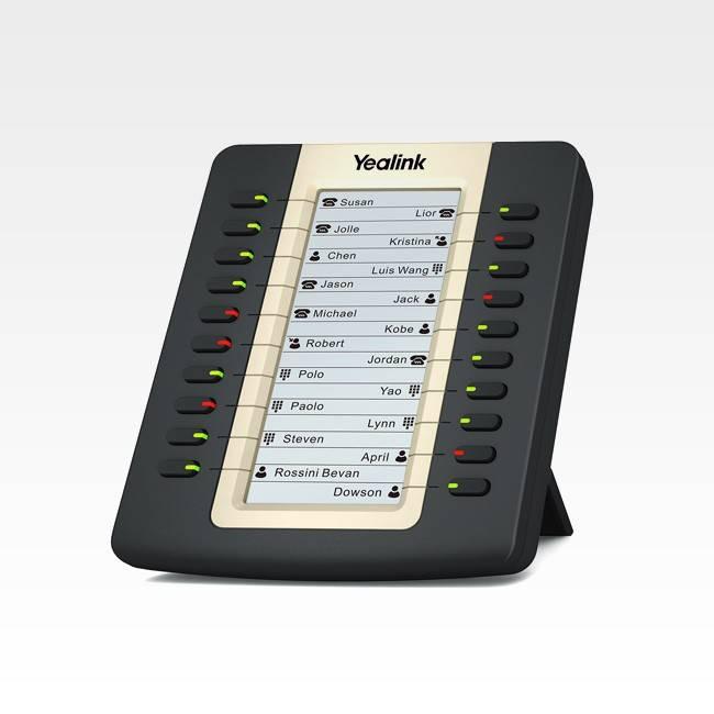 Console de Expansão Yealink EXP20  - Northshop São Paulo