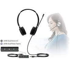 Headset Yealink Teams UH36 Dual  - Northshop São Paulo