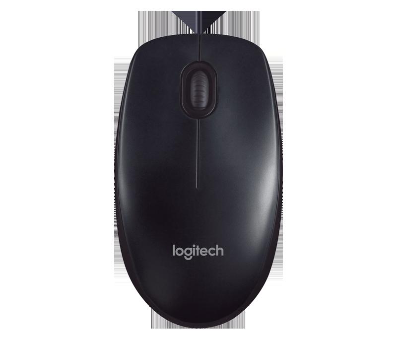 Mouse Logitech  com fio  M90 - Preto  - Northshop São Paulo