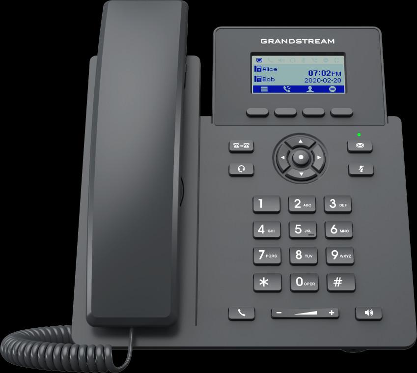 Telefone Ip Grandstream GRP 2101P (PoE) (Substituto do GXP 1615)  - Northshop São Paulo