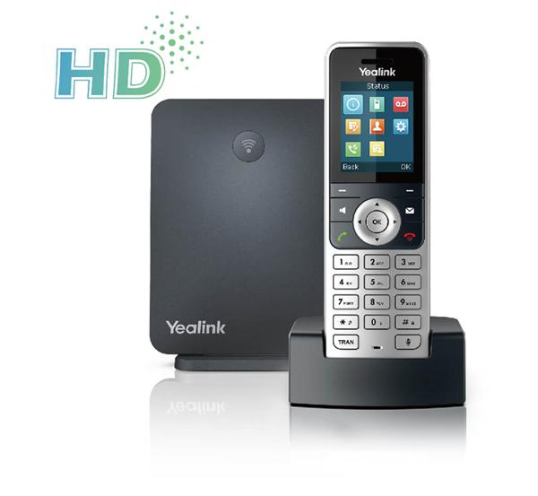 Telefone s/ fio IP  Yealink W53P – IP DECT  - Northshop São Paulo