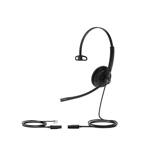Yealink Headset YHS34 Lite Mono (Substituto ao YHS33 RJ9) - Espuma  - Northshop São Paulo