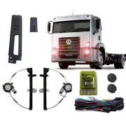 KIT VIDRO ELETRICO CAMINHAO VW CONSTELATION C/ MODULO INTELIGENTE