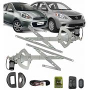 KIT VIDRO ELETRICO NISSAN MARCH INTELIGENTE
