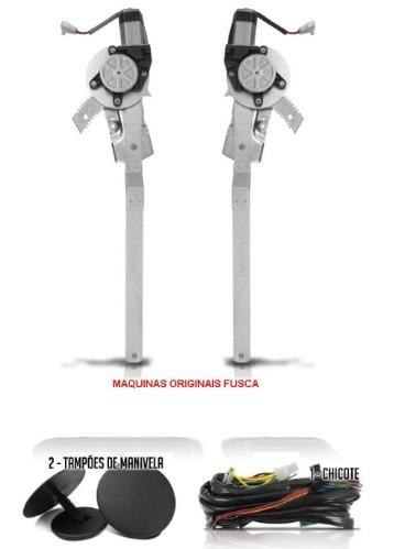 KIT VIDRO ELETRICO GOL QUADRADO E VOYAGE / PASSAT / FUSCA  - Kit Vidro Elétrico | Vidro Elétrico