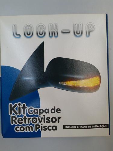 CAPA RETROVISOR COM PISCA NOVO CORSA / MONTANA ANTIGA  - Kit Vidro Elétrico | Vidro Elétrico