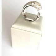 Anel Pantera Ouro 18k Diamantes e Citrinos