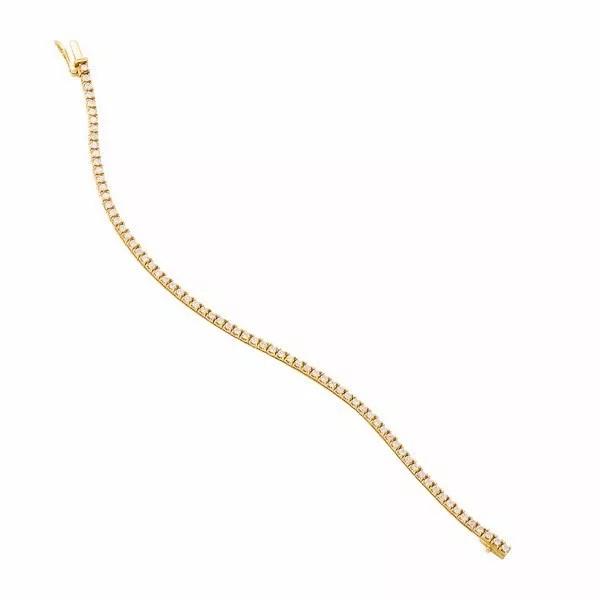 Pulseira Ouro 18k Riviera de diamantes  - Sancy