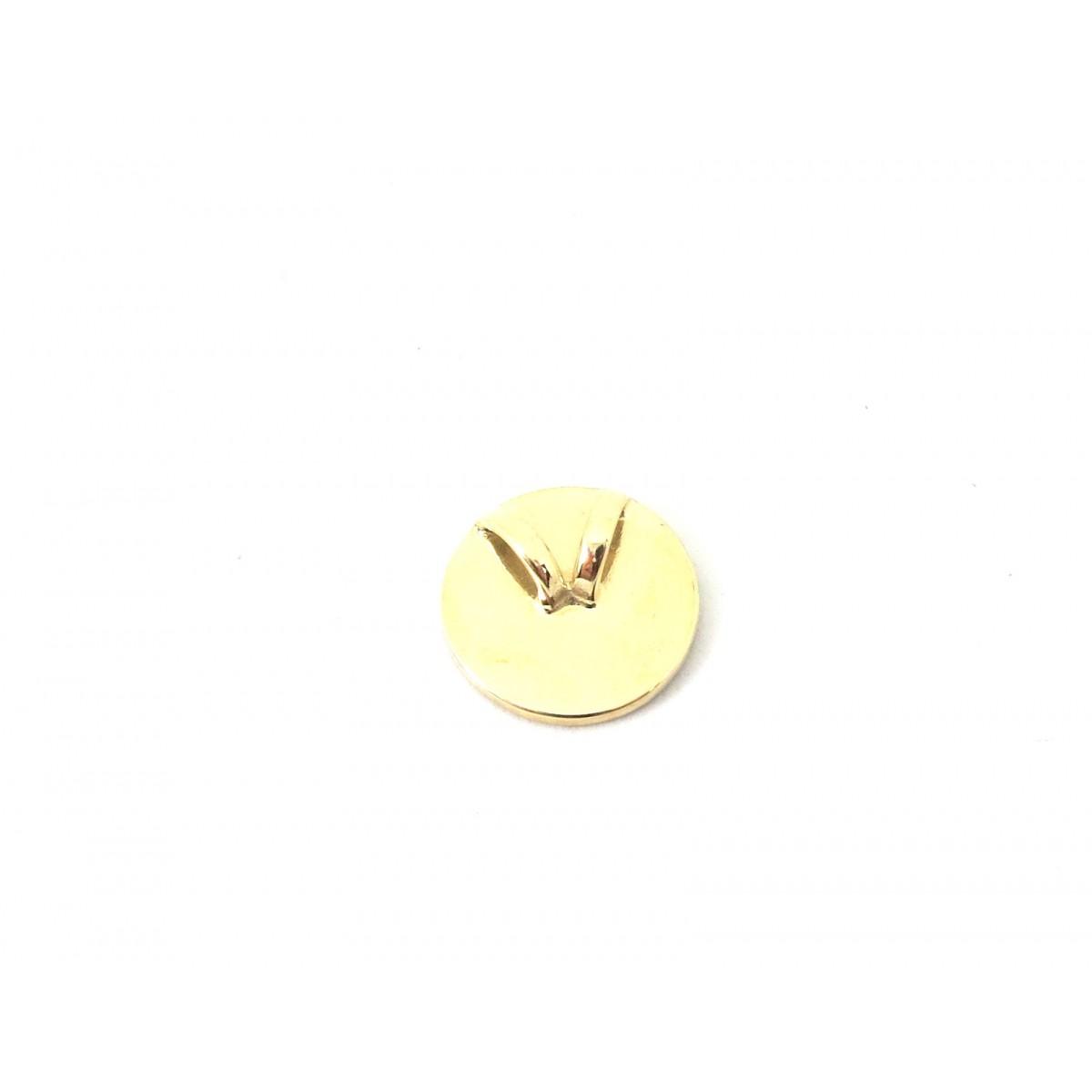 Pingente Redondo De Ouro 18k e Diamantes negros  - Sancy