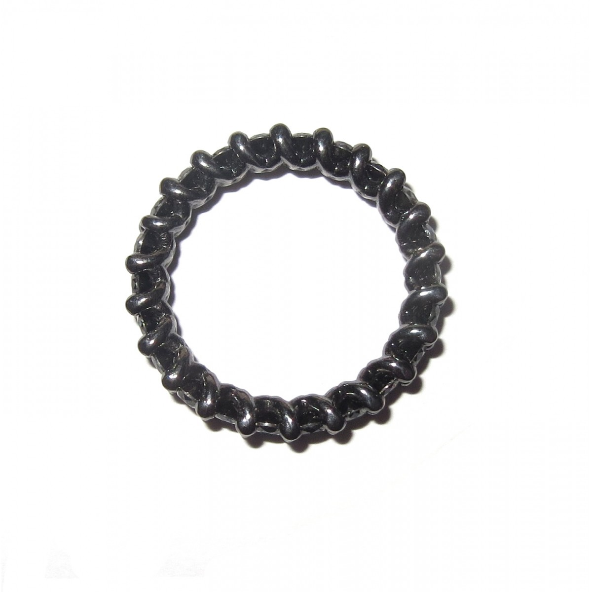 Anel Ouro Negro 18k Inteiro de diamantes 1.00 quilate  - Sancy