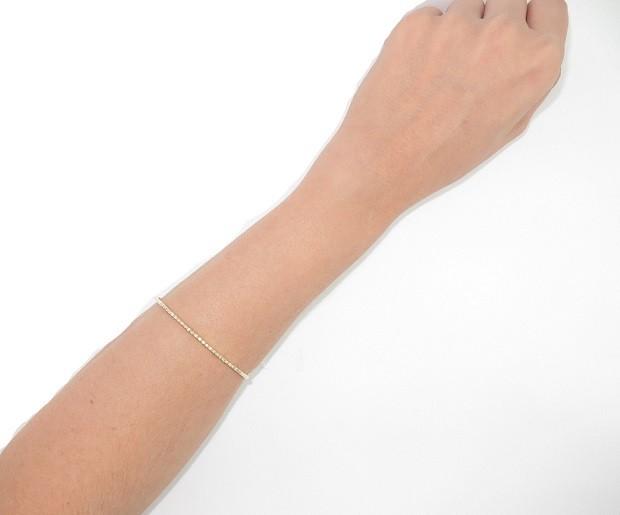 Bracelete Princesa Ouro 18k Com 37.5 pontos de Diamantes  - Sancy