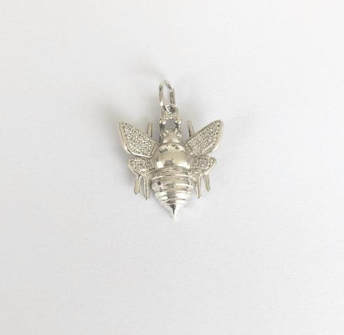 Pingente Abelha Ouro 18k e Diamantes  - Sancy