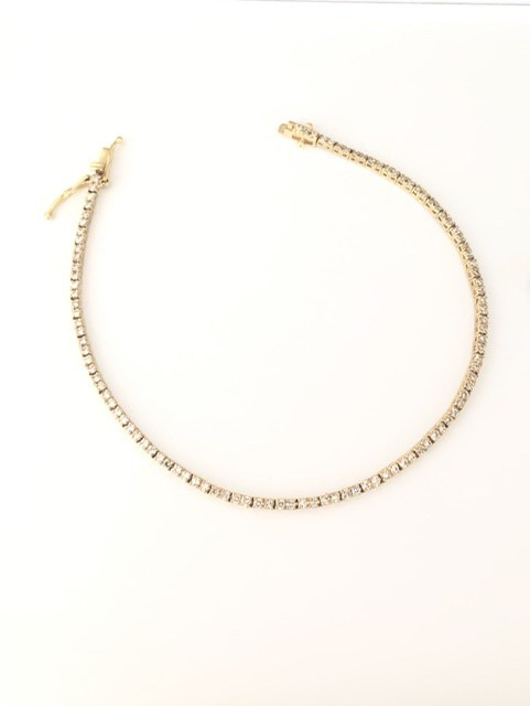 Pulseira Riviera Diamantes Ouro 18k  - Sancy
