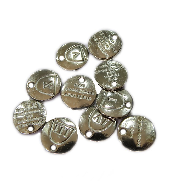 Mini pingene níquel 10 mandamentos- MPN007