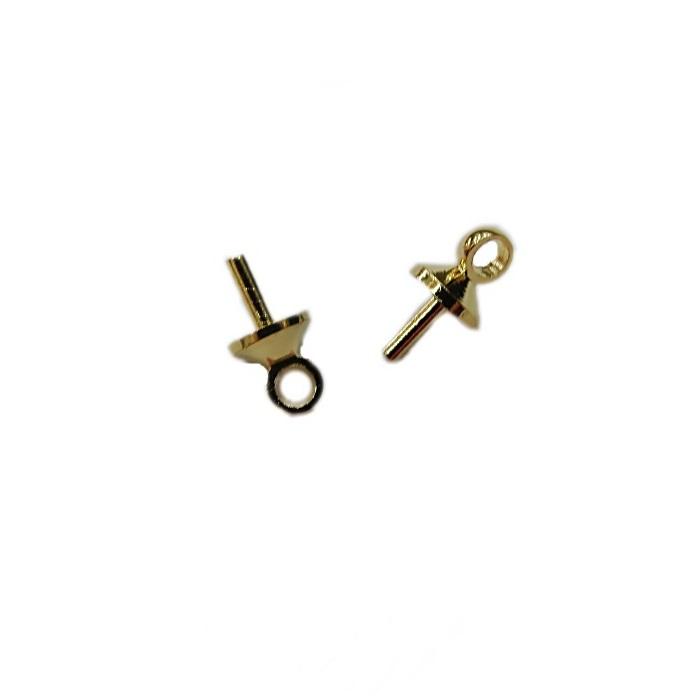 Chupetinha dourada P (30 unid.)- CHD001