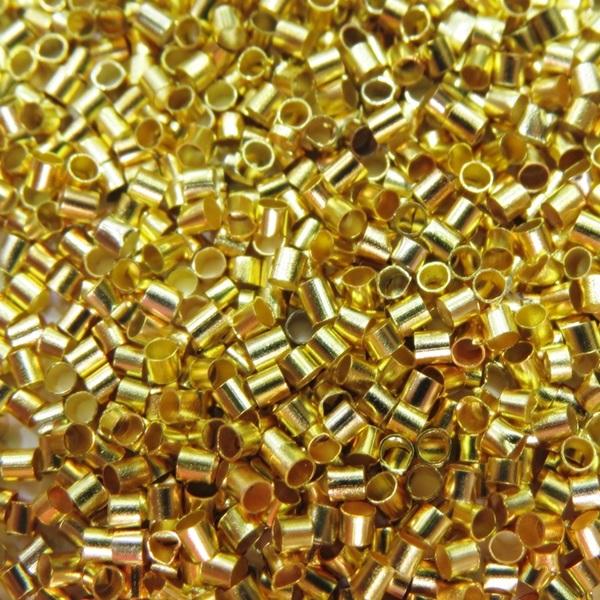 Fixador dourado M (1.000 unid.)- FIXD002
