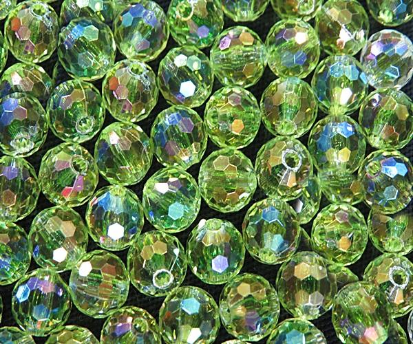 Bolinha importada facetada globo Nº 08 (10 unid.)- BOI003