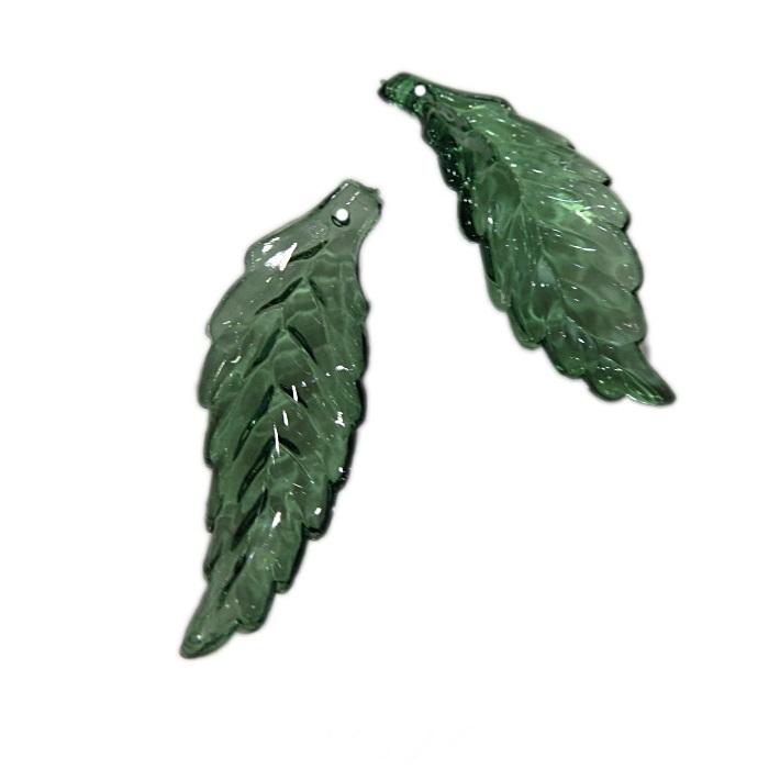 Folha grande verde (10 unid.)- FUM004