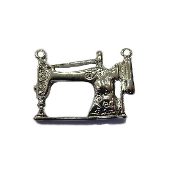 Pingente Máquina de costura níquel- PTN030