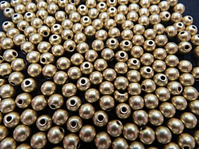 Bolinha Dourada ABS Dourada Fosca-25 gramas -BA003