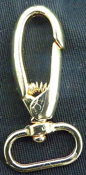 ATACADO-Mosquetao dourado grande-100 peças-md007
