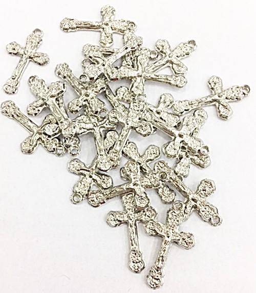 Pingente cruz niquel  - 25 gramas - Ptn307