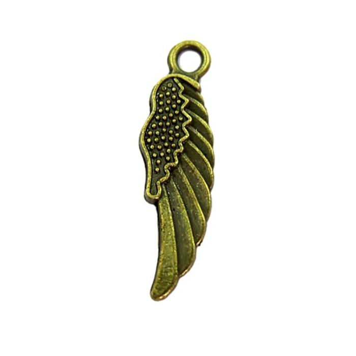 Pingente Asa IV ouro velho (10 unidades)- PTO025
