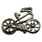 Pingente Bicicleta I níquel- PTN031