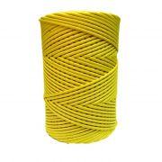 Cordão encerado grosso amarelo (3315)- CDG023 ATACADO