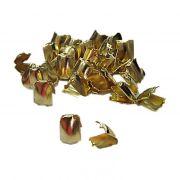 Ponteira de amassar Dourada P (1.000 unid.)- PCD004 ATACADO