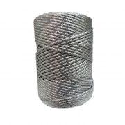 Lurex prata grosso- LX002 ATACADO
