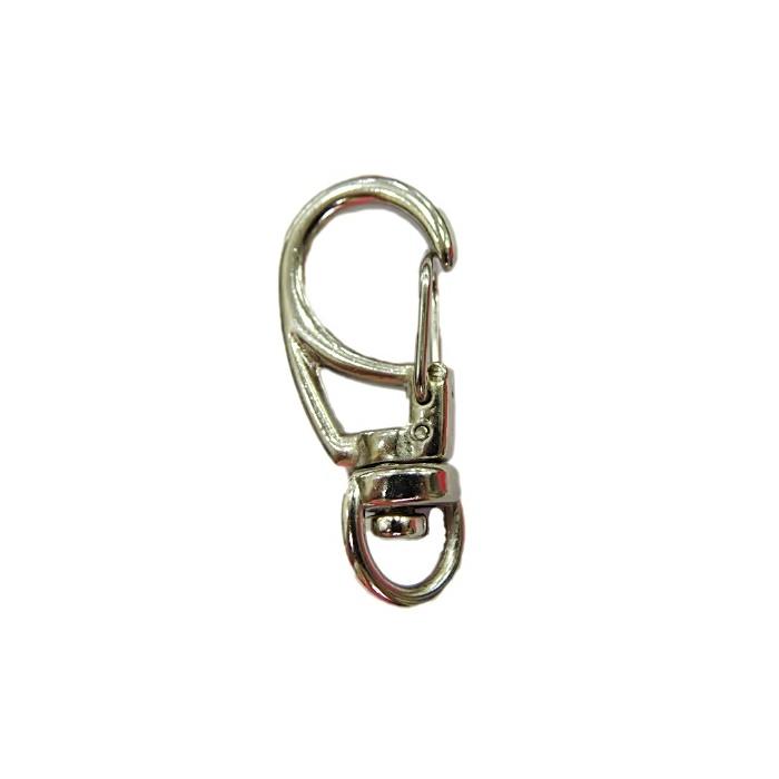 Mosquetão níquel III- MN003 ATACADO