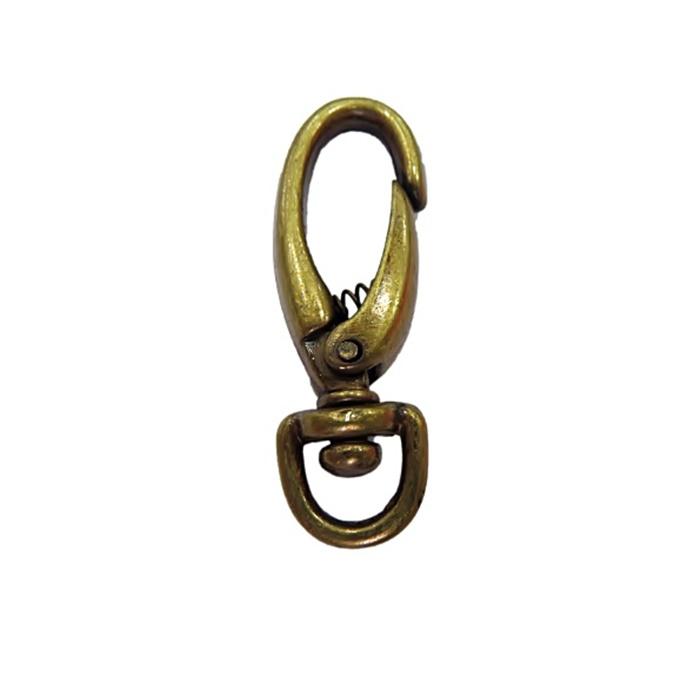 Mosquetão ouro velho V (2 unidades)- MO005