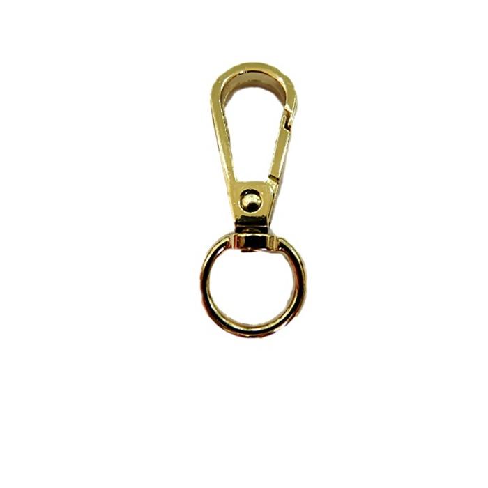 Mosquetão dourado I- 100 peças-MD002 ATACADO