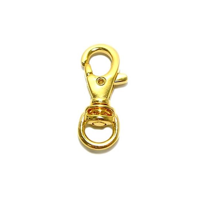 Mosquetão dourado III- MD003 ATACADO