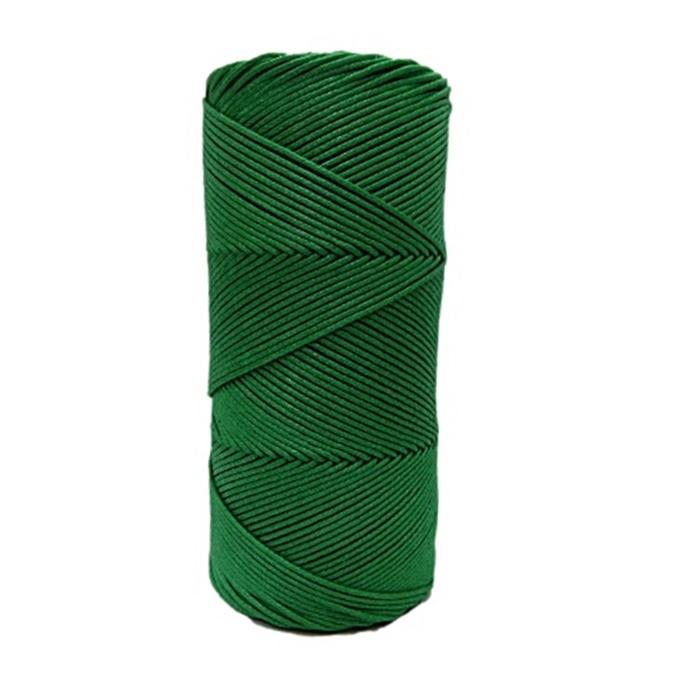 Cordão encerado fino Verde bandeira (5959) 10mts- CDF002