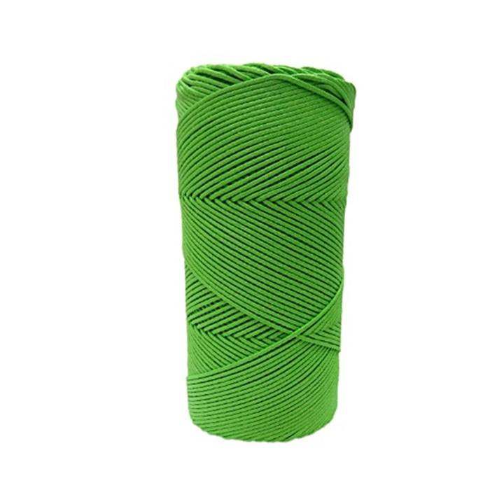 Cordão encerado fino verde citrico (5958) 10mts- CDF003