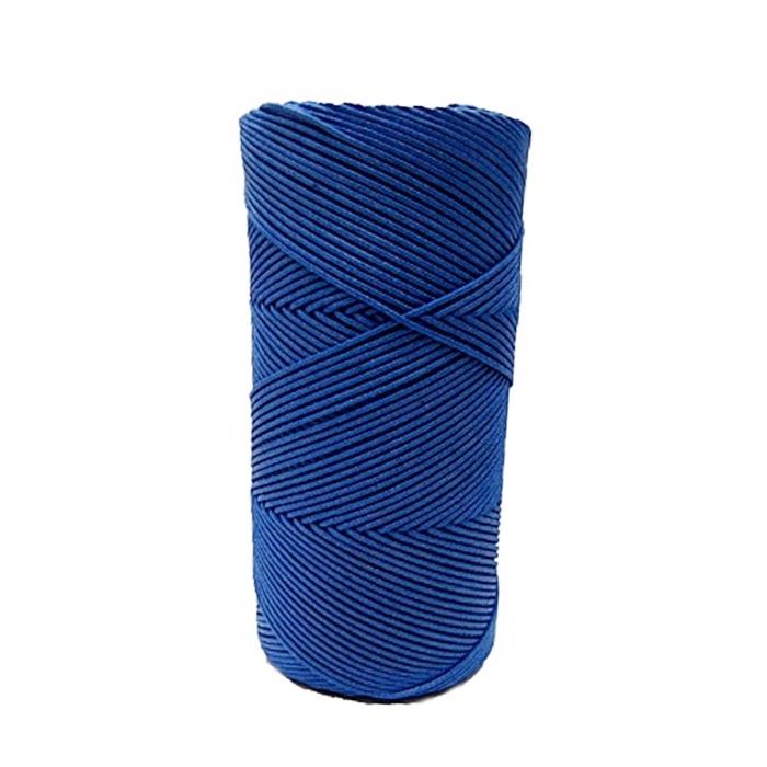 Cordão encerado fino azul royal (4645) 10mts- CDF007