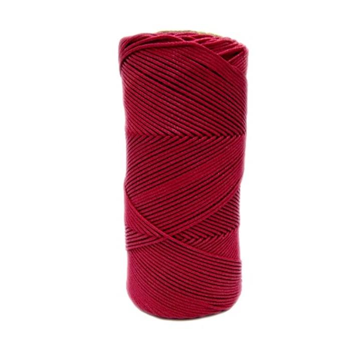 Cordão encerado fino rubi (7717)- CDF032 ATACADO