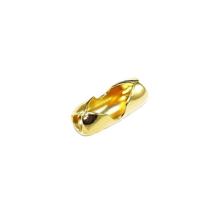 Fecho Canoa Dourado Nº 2.5 (50 unid.)- FCD002