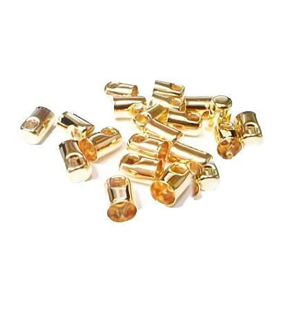 Terminal de colagem dourado Nº 4.0 (30 unid.)- TCD004