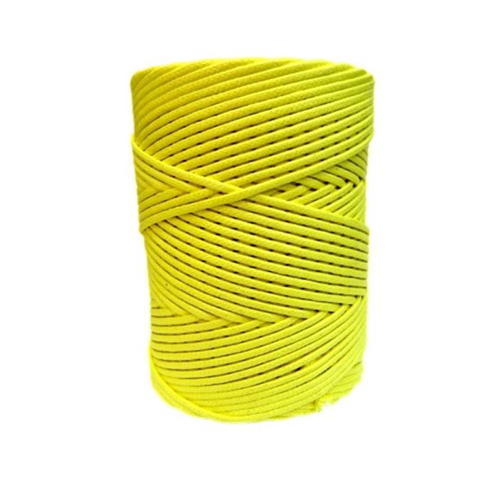 Cordão encerado grosso canario  (3330)- CDG022 ATACADO