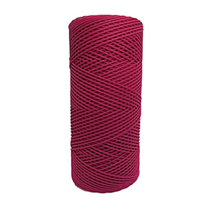 Cordão c/ nylon vermelho (10mts)- CDN005