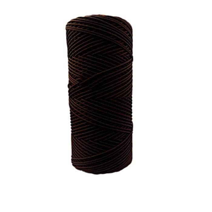 Cordão c/ nylon marrom escuro- CDN006 ATACADO