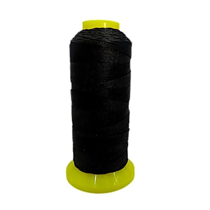 Cordão de seda fino preto- FS002 ATACADO