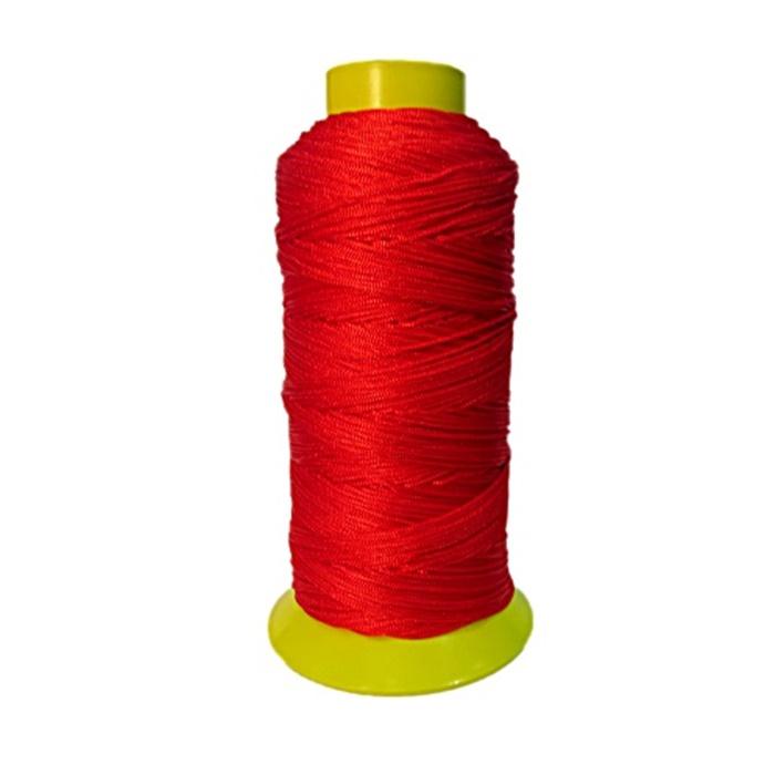 Cordão de seda fino vermelho (10mts)- FS017