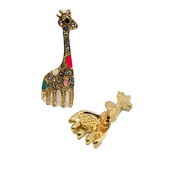 Piercing Girafa dourada (Par)- PID17